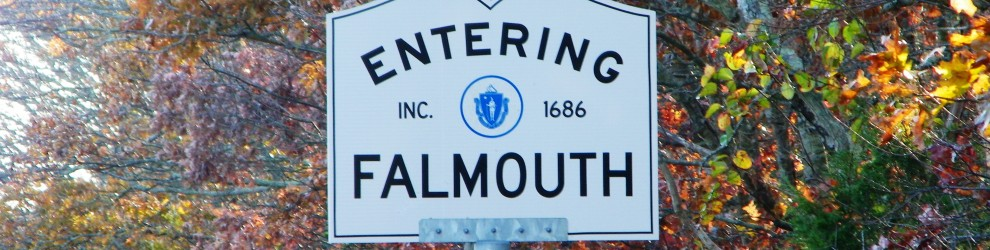 Entering Falmouth sign 4